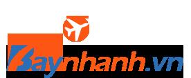 Logo Baynhanh.vn | Đặt vé máy bay online giá rẻ VN Airlines, Vietjet Air, Bamboo, Pacific, Viettravel Airliners